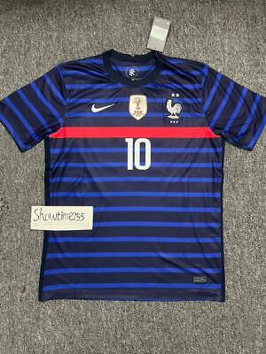 MAILLOT FOOT FRANCE euro 2020  MBAPPE  avec chaussette 4//6//10//12//14 ANS neuf