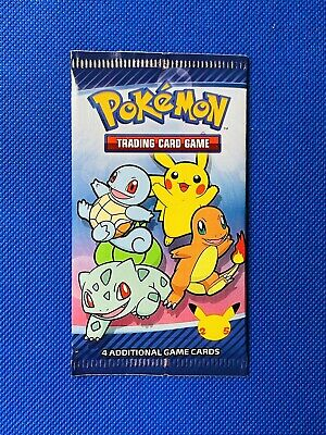 1 Pack Or Bundle Pokemon 25th Anniversary McDonalds 2021 Promo Sealed In Hand!