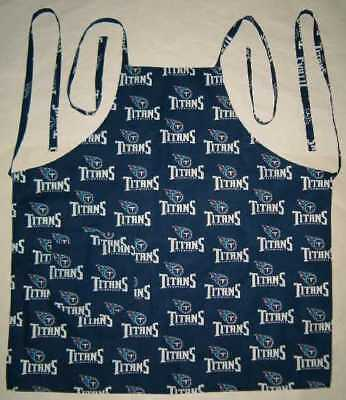 Barbeque Apron made with Tennessee Titans NFL Football Cotton Fabric BBQ Grill