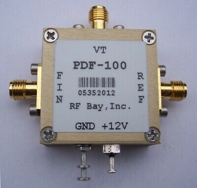 Phase/Frequency Detector w/Loop Filter PDF-100, New,SMA