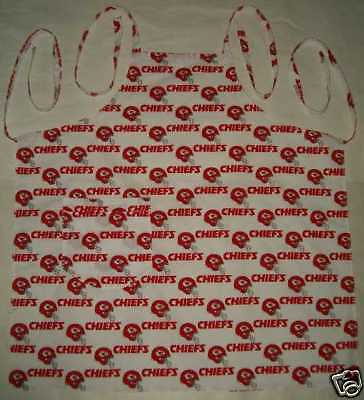 Barbeque Apron made with Kansas City Chiefs NFL Football Cotton Fabric BBQ