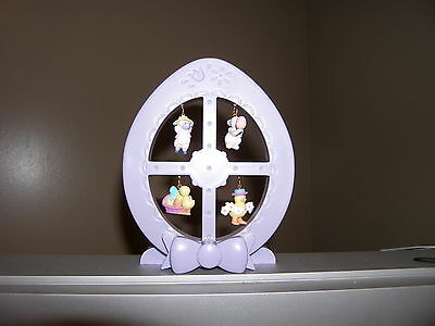 Easter Egg Stand with Miniature Ornaments Avon NIB