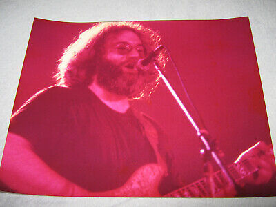 Jerry Garcia Grateful Dead 8 X 10 Color Glossy Photo