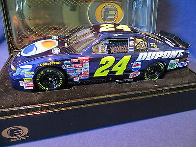 Jeff Gordon #24 Dupont Pepsi 2001 BLUE CHROME 1/24 Action RCCA Monte Carlo Elite
