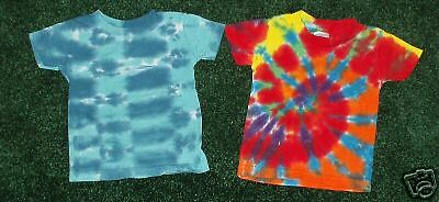 2-NWT Tie dyed 6M unisex infant baby t-shirts 6 months