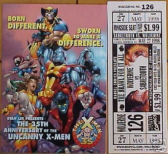LOT OF 2 X-MEN PROMO CARDS WOLVERINE