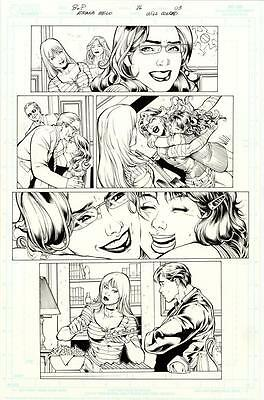 ORIGINAL ART: BIRDS OF PREY # 86 Page 3 ADRIANA MELO WILL CONRAD Originalseite