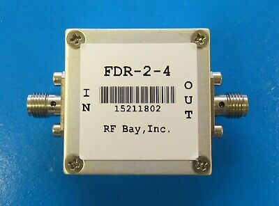 Frequency Doubler 0.85-2.0GHz Input, FDR-2-4, New, SMA