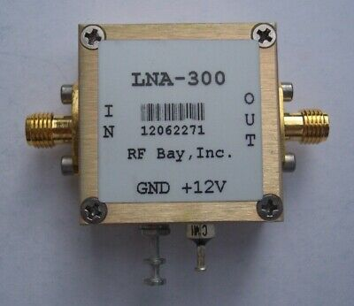 225-400MHz High IP3 LNA, NF=0.8dB, LNA-300, New, SMA