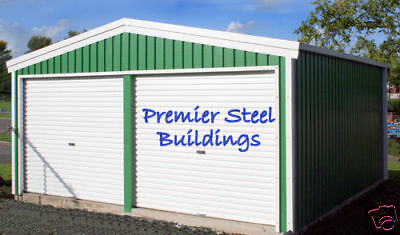 Premier Steel Building,Double Garage,Metal Shed,Store, Custom Made