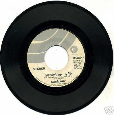 Carole King, You Light Up My Life/Believe In....45 rpm
