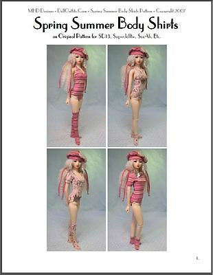 "BJD Ball Jointed Doll Fashion Clothing Pattern 24/"" /""Infinité/"" 60 cm"
