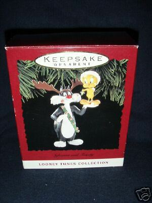 Hallmark 1993 Sylvester and Tweety Book Value $30