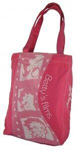 BETTY BOOP Borsa Shopper ROSA 22x32cm  New 2008