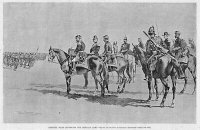 Frederic Remington, Horses, General Miles Mexican Army