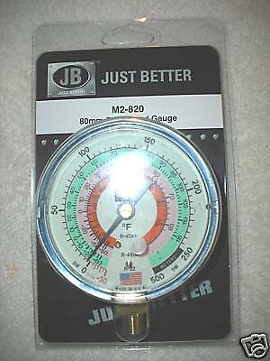 "J/B Industries Compound 3""-80mm  Gauge R410a,R404a,R22"
