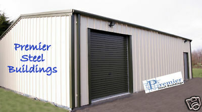Premier Steel Buildings- Insulated Workshop,Warehousing. Custom Made