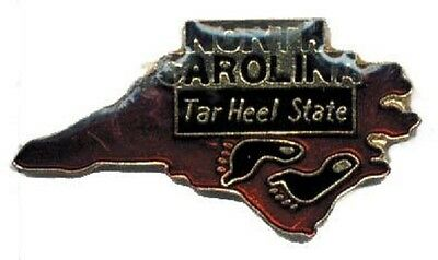 Hat Lapel Push Pin Tie Tac State of North Carolina NEW