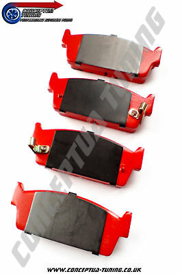 Set Upgrade EBC Redstuff Rear Brake Pads- 89- 91 S13 200SX Zenki CA18DET