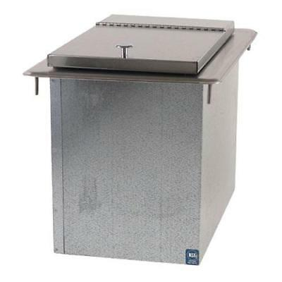 ICE BIN INSULATED STAINLESS STEEL 23 lbs NEW 11582