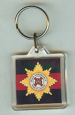 Acrylic Military Key Ring   11th Hussars