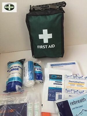 Lone Workers First Aid Kit - Remote Workers - 47 Items - Travel First Aid Kit