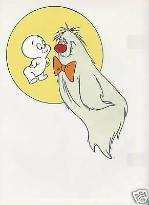 Casper And The Angels Animation Cel #2 Hanna Barbera