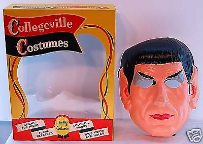 Star Trek - Mr. Spock Halloween Costume 1967 Rare  Mib