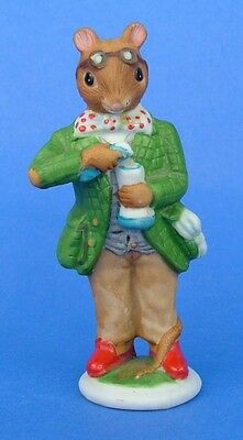Franklin 1985 Woodmouse Family Mouse Figurine Alexander