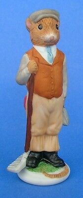 Franklin 1985 Woodmouse Family Mouse Figurine Henry