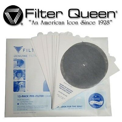 GENUINE FILTER QUEEN FILTERS/BAGS 12 pack