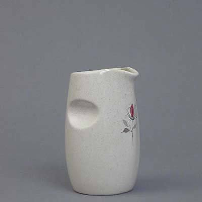 Franciscan Pottery USA Duet Rose Syrup Pitcher