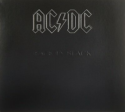 "Ac/dc ""back In Black"" Cd Special Digipack Edition Neu"