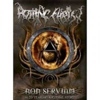 """Rotting Christ """"non Serviam A 20 Years..."""" 2 Dvd+2 Cd"""