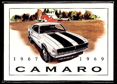 CHEVROLET CAMARO (1967-69) Collectors Card Set - SS396 Yenko Z28 427 Convertible