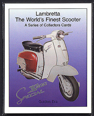 LAMBRETTA - WORLD'S FINEST SCOOTER - TV175 Li150 GP200
