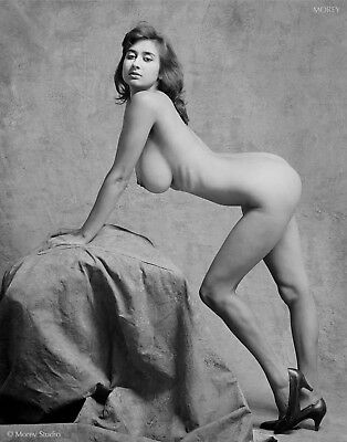 Natalie 35658.01 Fine Art Figure Study B&W photo hand-signed by Craig Morey