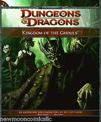 Dungeons & Dragons 4th Ed E2 Kingdom of Ghouls New