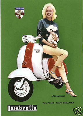 CLASSIC LAMBRETTA - TV175 SX200 Li150 Li125 Original Golden Era collectors cards