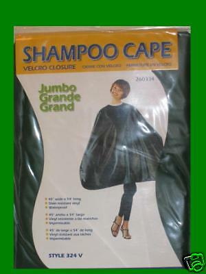 Betty Dain Shampoo Cape Jumbo Size Style 324V - Green