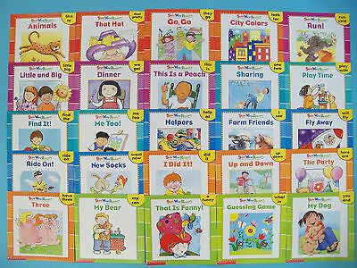 Sight Word Readers Learning to Read Childrens Books Kindergarten Lot 25