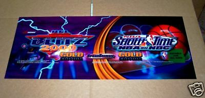 Blitz 2000 Gold / Showtime Gold New Factory Marquee