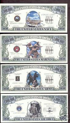 Armed Forces Patriotic Commemorative Bills (Free Gift)