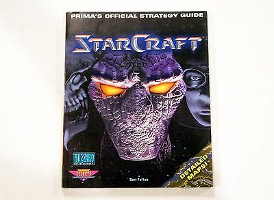 Prima's Official StarCraft Strategy Guide Book