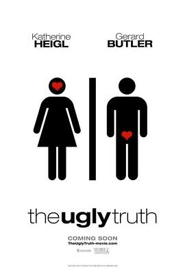 UGLY TRUTH MOVIE POSTER 2 Sided ORIGINAL ADVANCE 27x40