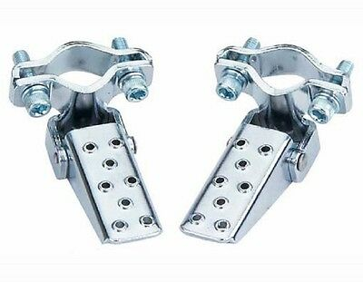 Bicycle Steel Foldable Foot Step Pegs Stand Beach Cruiser Lowrider Bmx Bikes New