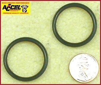 2-pack ref. 11133 A Pushrod Cover Quad Seal Late 81-84 Big Twin Harley