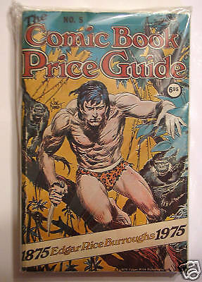 OVERSTREET COMIC BOOK PRICE GUIDE #5 1975 Softcover