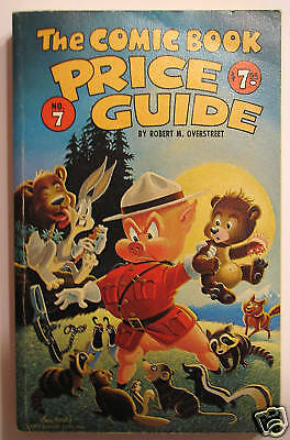 OVERSTREET COMIC BOOK PRICE GUIDE #7 Softcover 1977