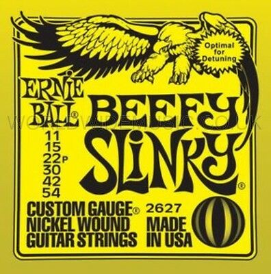 Ernie Ball 2627 BEEFY Slinky Nickel Wound Guitar Strings